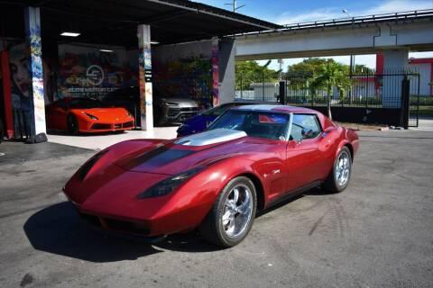 1973 Chevrolet Corvette for sale at STS Automotive - Miami, FL in Miami FL