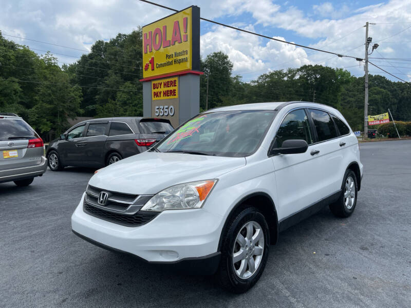 2011 Honda CR-V for sale at No Full Coverage Auto Sales in Austell GA