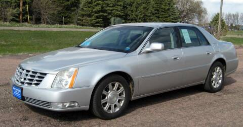 2010 Cadillac DTS for sale at Rapp Motors in Marion SD