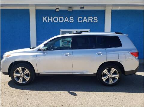 2012 Toyota Highlander for sale at Khodas Cars in Gilroy CA