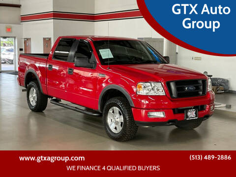 2005 Ford F-150 for sale at GTX Auto Group in West Chester OH