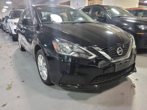 2018 Nissan Sentra for sale at AW Auto & Truck Wholesalers  Inc. in Hasbrouck Heights NJ