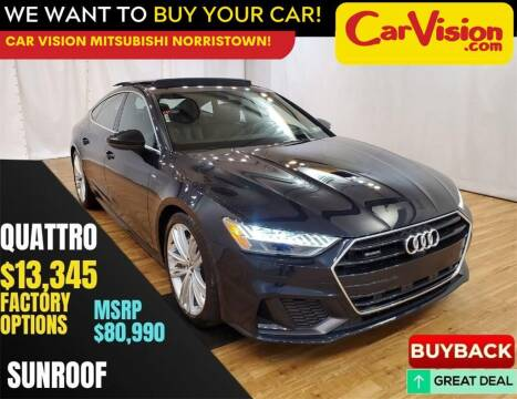 2020 Audi A7 for sale at Car Vision Mitsubishi Norristown in Trooper PA