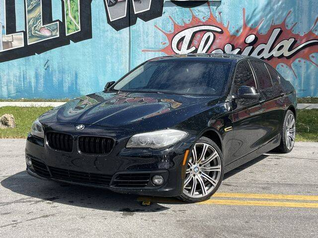 2015 BMW 5 Series for sale at Palermo Motors in Hollywood FL