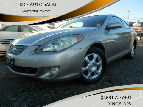 2004 Toyota Camry Solara for sale at Ted's Auto Sales in Louisville OH
