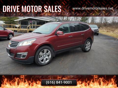 2015 Chevrolet Traverse for sale at Drive Motor Sales in Ionia MI