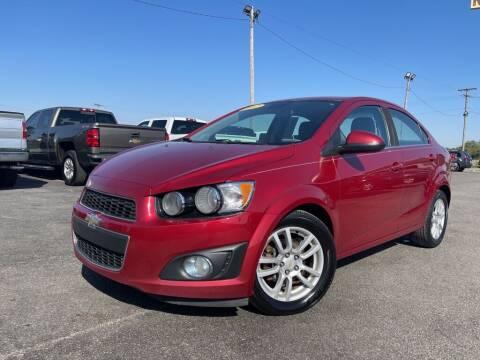 2012 Chevrolet Sonic for sale at Superior Auto Mall of Chenoa in Chenoa IL