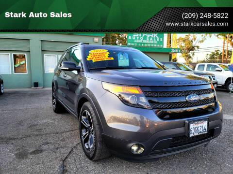 2015 Ford Explorer for sale at Stark Auto Sales in Modesto CA