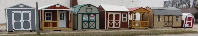 DERKSEN cabins, utility, playhouse for sale at Mid Kansas Auto Sales in Pratt KS