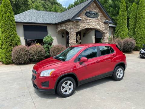 2015 Chevrolet Trax for sale at Hoyle Auto Sales in Taylorsville NC
