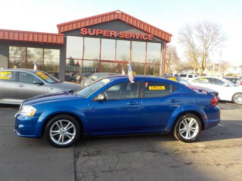 2012 Dodge Avenger for sale at Super Service Used Cars in Milwaukee WI