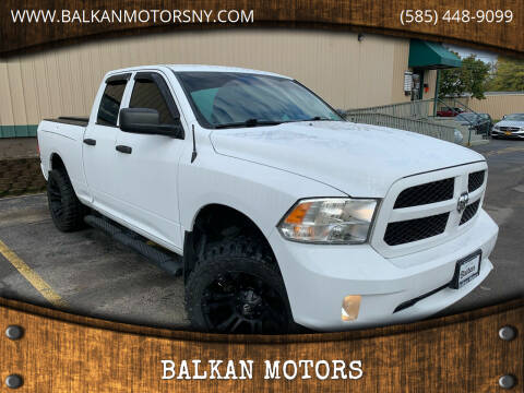 2016 RAM Ram Pickup 1500 for sale at BALKAN MOTORS in East Rochester NY