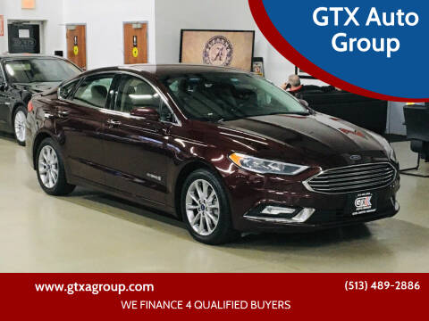 2017 Ford Fusion Hybrid for sale at GTX Auto Group in West Chester OH
