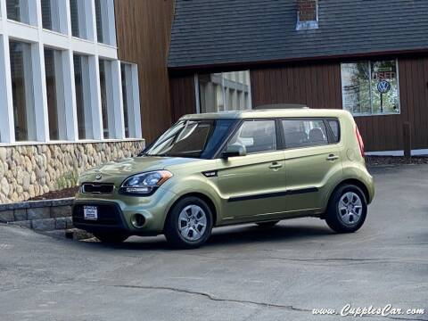 2013 Kia Soul for sale at Cupples Car Company in Belmont NH
