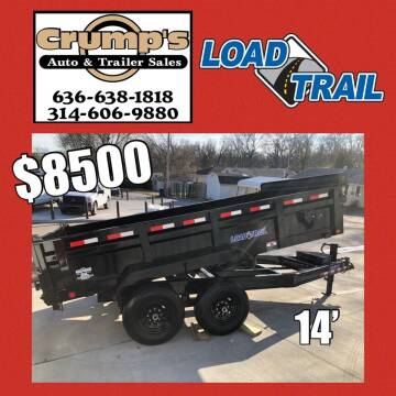 2021 Load Trail 14' Loaded Dump Trailer for sale at CRUMP'S AUTO & TRAILER SALES in Crystal City MO
