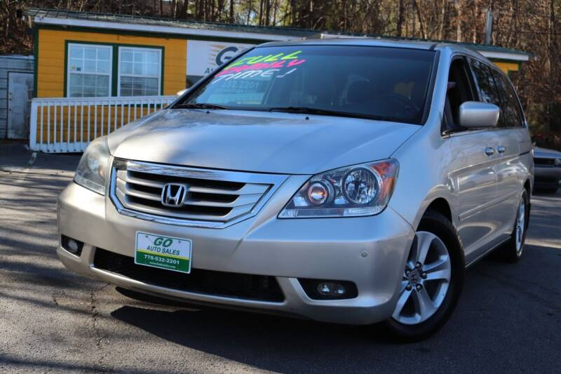 2009 Honda Odyssey for sale at Go Auto Sales in Gainesville GA