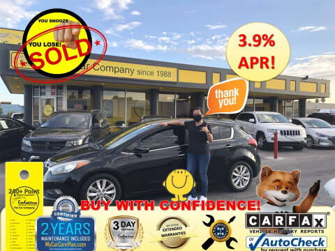2015 Kia Forte5 for sale at The Car Company in Las Vegas NV