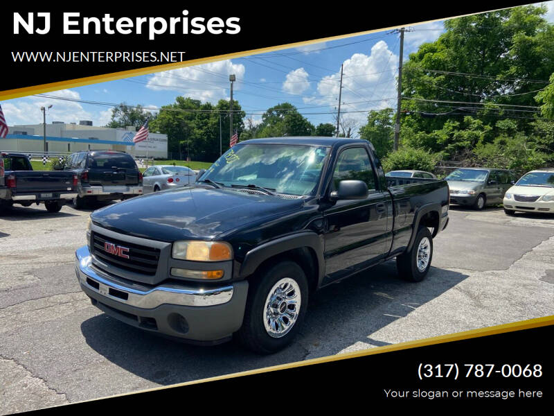 2007 GMC Sierra 1500 for sale at NJ Enterprises in Indianapolis IN