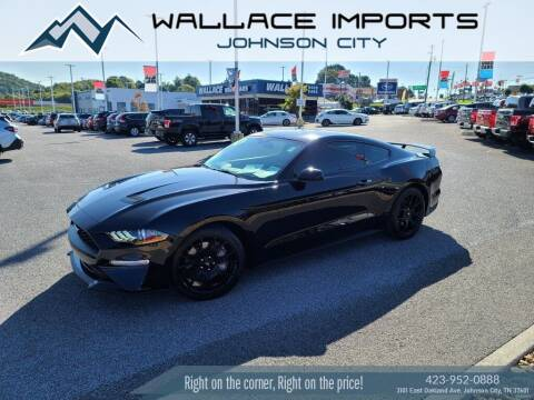 2018 Ford Mustang for sale at WALLACE IMPORTS OF JOHNSON CITY in Johnson City TN