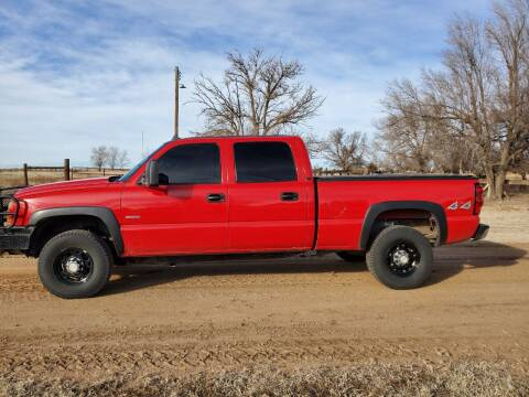 2006 Chevrolet Silverado 2500HD for sale at TNT Auto in Coldwater KS