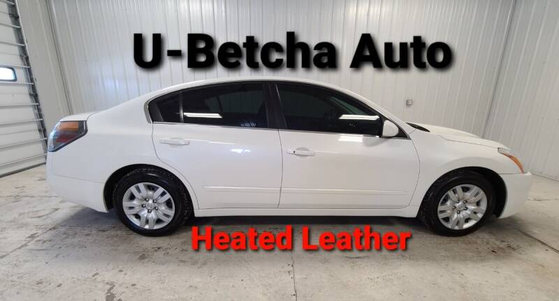 2010 Nissan Altima for sale at Ubetcha Auto in St. Paul NE
