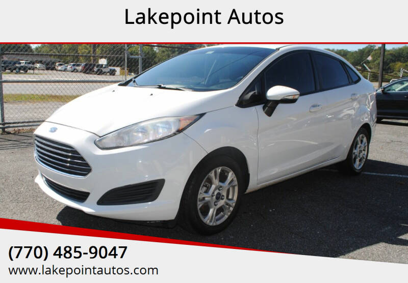 2014 Ford Fiesta for sale at Lakepoint Autos in Cartersville GA