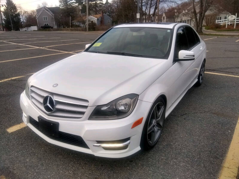 2013 Mercedes-Benz C-Class for sale at Washington Street Auto Sales in Canton MA