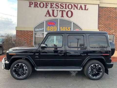 2020 Mercedes-Benz G-Class for sale at Professional Auto Sales & Service in Fort Wayne IN