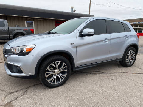 2017 Mitsubishi Outlander Sport for sale at NORRIS AUTO SALES in Oklahoma City OK