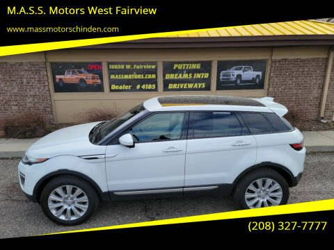 2017 Land Rover Range Rover Evoque for sale at M.A.S.S. Motors - West Fairview in Boise ID