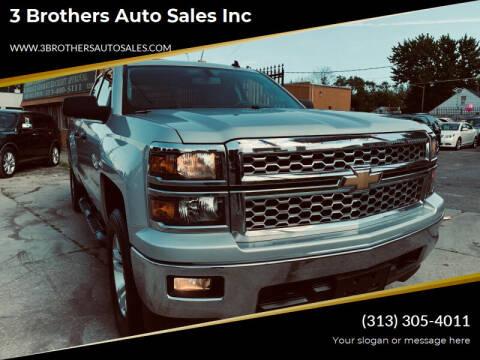 2014 Chevrolet Silverado 1500 for sale at 3 Brothers Auto Sales Inc in Detroit MI
