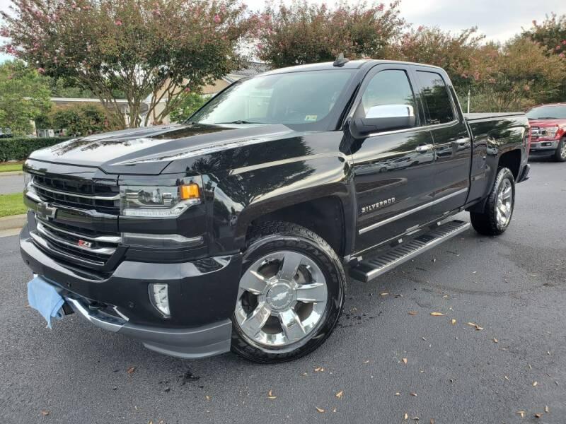 2017 Chevrolet Silverado 1500 for sale at TM AUTO WHOLESALERS LLC in Chesapeake VA