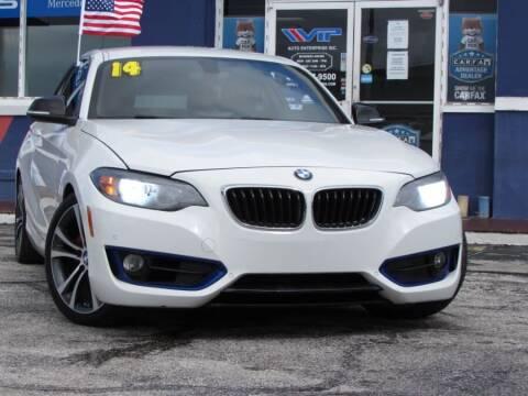 2014 BMW 2 Series for sale at VIP AUTO ENTERPRISE INC. in Orlando FL