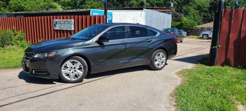 2015 Chevrolet Impala for sale at Hidalgo Motors Co in Houston TX