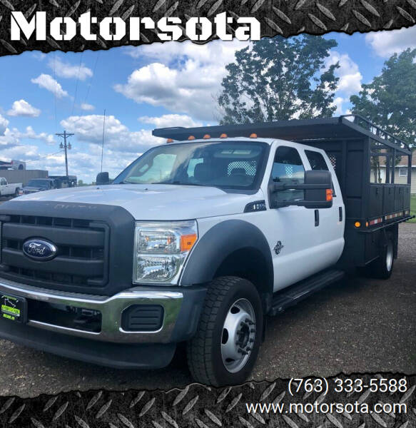 2012 Ford F-550 Super Duty for sale at Motorsota in Becker MN