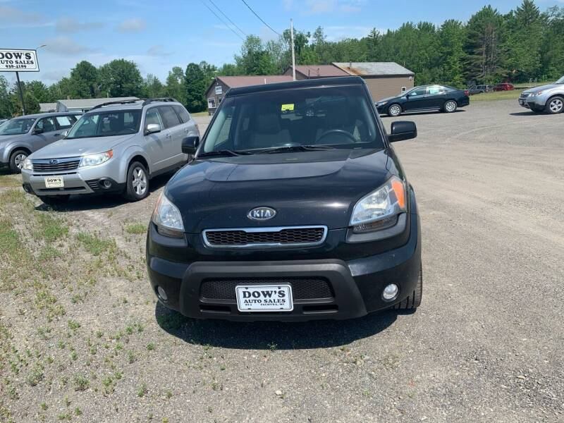 2010 Kia Soul for sale at DOW'S AUTO SALES in Palmyra ME