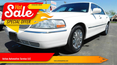 2004 Lincoln Town Car for sale at Action Automotive Service LLC in Hudson NY