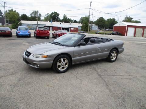 1999 Chrysler Sebring for sale at RJ Motors in Plano IL