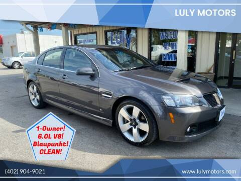 2009 Pontiac G8 for sale at Luly Motors in Lincoln NE
