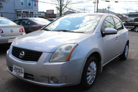 2009 Nissan Sentra for sale at Grasso's Auto Sales in Providence RI