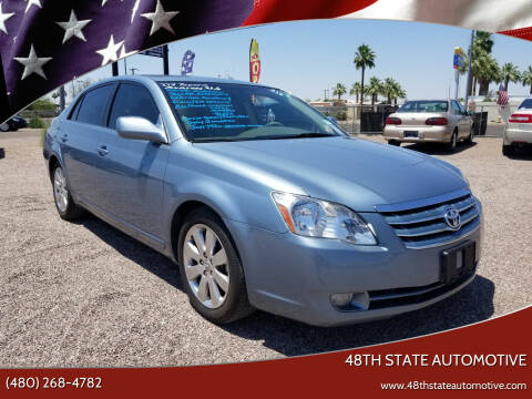 2007 Toyota Avalon for sale at 48TH STATE AUTOMOTIVE in Mesa AZ