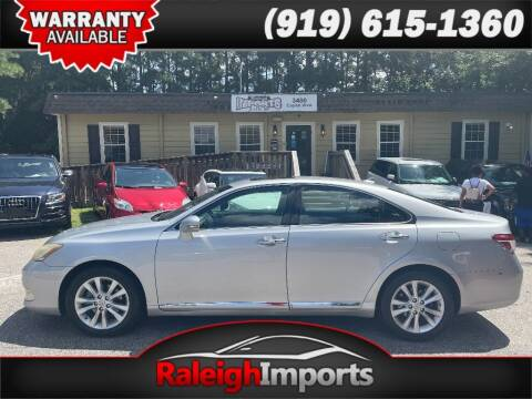 2010 Lexus ES 350 for sale at Raleigh Imports in Raleigh NC