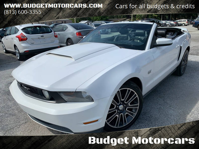 2010 Ford Mustang for sale at Budget Motorcars in Tampa FL
