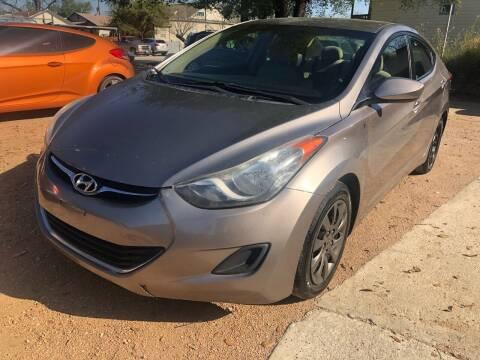 2011 Hyundai Elantra for sale at S & J Auto Group in San Antonio TX