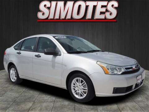 2011 Ford Focus for sale at SIMOTES MOTORS in Minooka IL