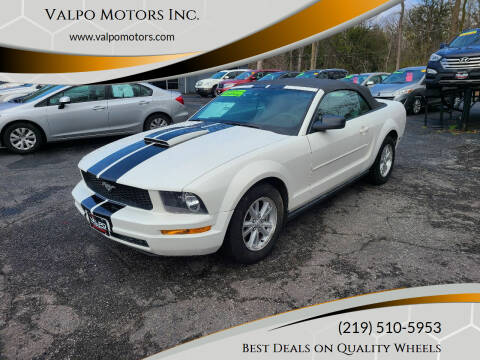 2007 Ford Mustang for sale at Valpo Motors Inc. in Valparaiso IN