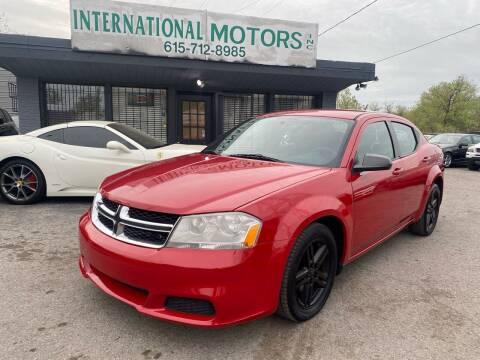 2014 Dodge Avenger for sale at International Motors Inc. in Nashville TN