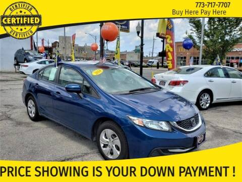 2014 Honda Civic for sale at AutoBank in Chicago IL