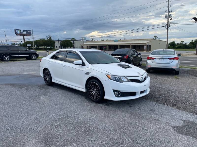 2013 Toyota Camry for sale at Lucky Motors in Panama City FL