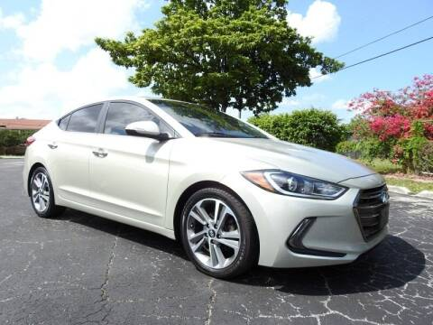 2017 Hyundai Elantra for sale at SUPER DEAL MOTORS 441 in Hollywood FL